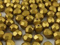 FP 6mm Matte Metallic Aztec Gold - 20 sztuk