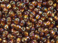 TOHO Round 6o-2034 Silver-Lined Rainbow Topaz - 10 g