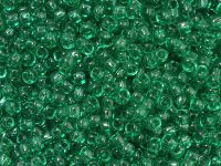 TOHO Round 8o-72 Transparent Beach Glass Green - 10 g