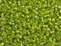 TOHO Round 8o-2024 Silver-Lined Rainbow Lime Green - 10 g