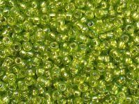 TOHO Round 8o-2024 Silver-Lined Rainbow Lime Green - 10 g