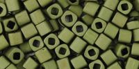 TOHO Cube 3mm-617 Matte-Color Dark Olive - 10 g