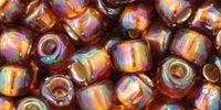 TOHO Round 3o-2034 Silver-Lined Rainbow Topaz - 10 g