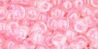 TOHO Round 6o-171D Trans-Rainbow Ballerina Pink - 10 g