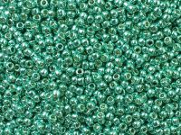 TOHO Round 11o-PF561 Permanent Finish - Galvanized Green Teal - 10 g