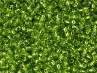 TOHO Round 8o-24 Silver-Lined Lime Green - 10 g