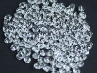 SuperDuo 2.5x5mm Silver-Lined Crystal - 10 g