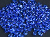 SuperDuo 2.5x5mm Sapphire - 10 g