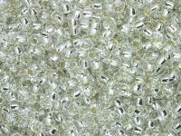 TOHO Round 8o-21 Silver-Lined Crystal - 100 g