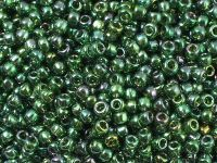 TOHO Round 8o-322 Gold-Lustered Emerald - 10 g