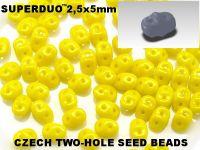 SuperDuo 2.5x5mm Lemon - 10 g
