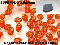 SuperDuo 2.5x5mm Hyacinth - 10 g