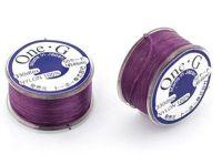 Nici nylonowe Toho One-G Purple - szpulka