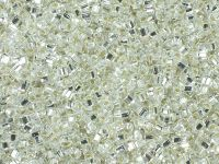 TOHO Cube 1.5mm-21 Silver-Lined Crystal - 5 g