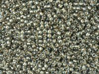 TOHO Round 11o-993 Gold-Lined Black Diamond - 10 g