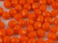 FP 4mm Opaque Orange - 40 sztuk