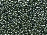 TOHO Round 11o-119 Trans-Lustered Olivine - 10 g