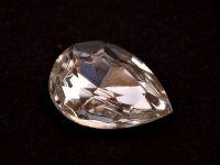 Kryształ fasetowany gruszka 14x10 mm Crystal F - 1 sztuka
