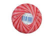 Kordonek cieniowany 50x3 czerwony - 30g