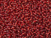 TOHO Round 11o-25C Silver-Lined Ruby - 100 g
