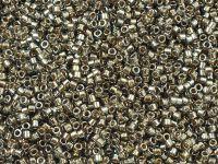 TOHO Treasure 12o-993 Gold-Lined Black Diamond - 5 g
