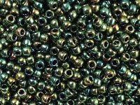TOHO Round 8o-507 Higher-Metallic Iris Green - 10 g