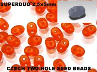 SuperDuo 2.5x5mm Matte Hyacinth - 10 g