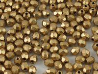 FP 3mm Matte Metallic Flax - 40 sztuk