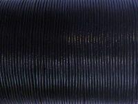 Rzemień 2 mm czarny - 1 m