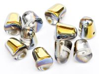 Gumdrop Beads Crystal Marea 10x7 mm - 10 sztuk