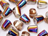 Gumdrop Beads Crystal Sliperit 10x7 mm - 10 sztuk