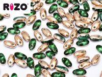 RIZO Beads Emerald Capri Gold - 10 g