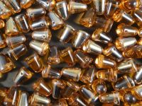 Gumdrop Beads Topaz Clarit 10x7 mm - 10 sztuk