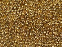 Metal Seed Beads 11o 24KT Gold Plated - 5 g