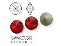 Rivoli Swarovski 12 mm Light Siam F - 1 sztuka