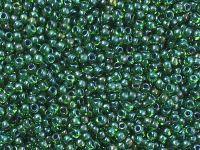 TOHO Round 11o-249 Inside-Color Peridot - Emerald Lined - 10 g