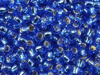 TOHO Round 6o-35 Silver-Lined Sapphire - 10 g