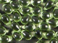 Teardrops Light Olivine 9x6mm - 20 sztuk