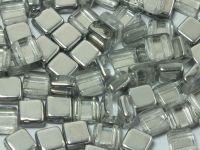Tile 6mm Silver 1/2 - 20 sztuk