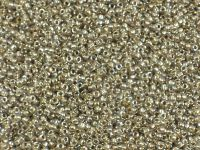 TOHO Round 15o-989 Gold-Lined Crystal - 5 g