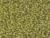 TOHO Round 11o-991 Gold-Lined Peridot - 10 g