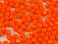 FP 3mm Opaque Bright Orange - 40 sztuk