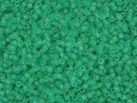 TOHO Round 15o-72F Transparent-Frosted Dark Peridot - 5 g
