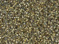 TOHO Treasure 12o-262 Inside-Color Crystal - Gold Lined - 5 g