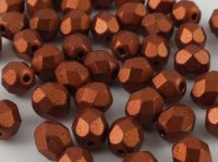 FP 6mm Matte Metallic Dark Copper - 20 sztuk