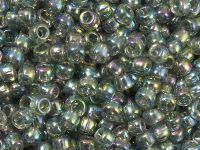 TOHO Round 6o-176 Trans-Rainbow Black Diamond - 10 g