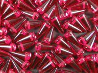 Spike Beads Ruby 13x5 mm - 10 sztuk
