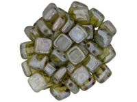 Tile 6mm Luster - Transparent Green - 20 sztuk