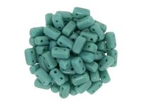 Bricks 6x3mm Opaque Persian Turquoise - 20 sztuk