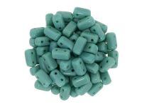 Bricks 6x3mm Opaque Persian Turquoise - 20 sztuk